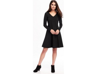 76% off Old Navy Ponte Knit Swing Dress