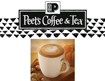 Peet's Coffee & Tea Coupon - Buy One, Get One Free