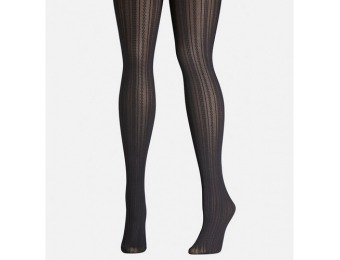 84% off Avenue Plus Size Cableknit Tights