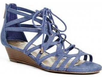 51% off Guess Factory Zelene Lace-Up Sandals