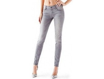 72% off Guess Factory Mid-Rise Power Curvy Jeans