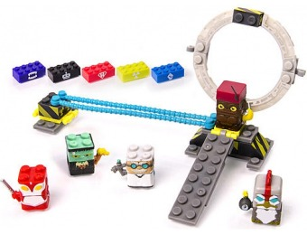 76% off Spin Master Sick Bricks - 3 - in - 1 Power Up Playset