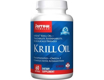 80% off Jarrow Formulas Krill Oil, Supports Brain, Memory, Energy