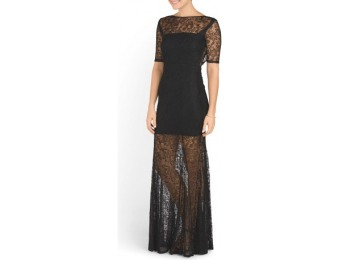 75% off Lace Bailey Chantilly Gown