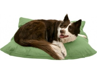 76% off Harry Barker Solid Canvas Envelope Dog Bed - Medium