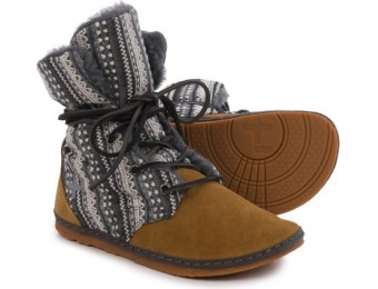 84% off OTZ Shoes Troop Shearling Ankle Boots For Women