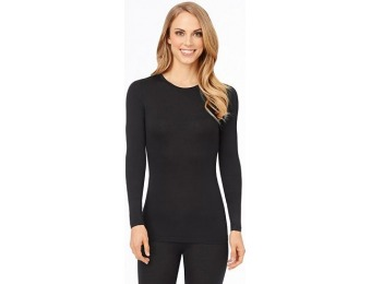41% off Petite Cuddl Duds Softwear with Stretch Crewneck Top