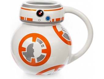53% off Star Wars: The Force Awakens BB-8 Mug