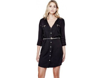 55% off G by GUESS Bernice Shirtdress