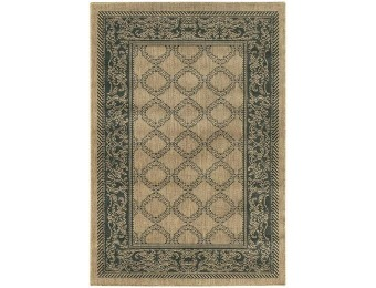 "75% off Couristan Entwined All-Weather Area Rug - 2'3""X7'10"""