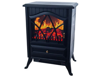$200 off Northwest Sagamore Free-Standing Log Flame Fireplace