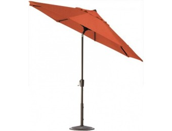 75% off 6' Auto-Tilt Outdoor Sun Market Umbrella