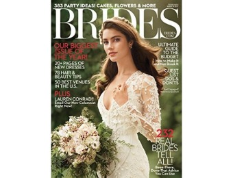 89% off Brides Magazine - 12 month auto-renewal