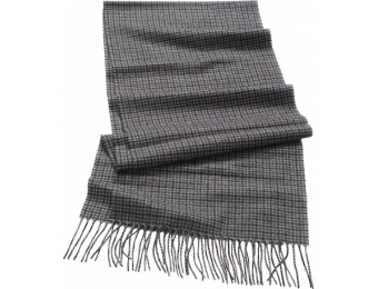 70% off Cashmere JAB Check Scarf