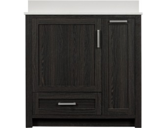 $200 off Goodson Black Walnut 36-in Bathroom Vanity