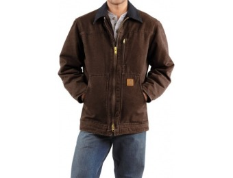 46% off Carhartt Sandstone Ridge Coat - Sherpa Lined