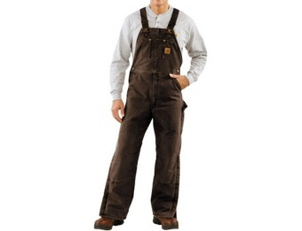 45% off Carhartt Quilt-Lined Bib Overalls For Men