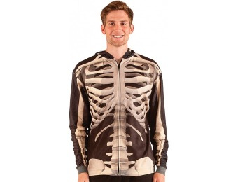 56% off Skeleton Sublimated Hoodie