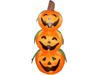 $24 off 4-Foot Inflatable Pumpkin Halloween Yard Decoration