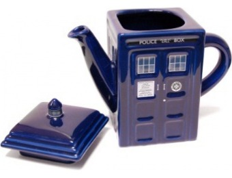 $19 off Doctor Who Tardis Ceramic Teapot
