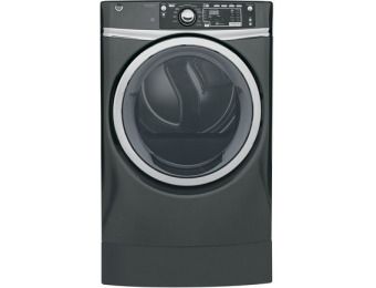 $310 off GE 8.3-cu ft Electric Dryer Steam Cycle GFD49ERPKDG