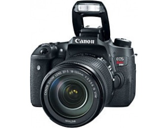 $750 off Canon EOS Rebel T6s SLR Camera With 18-135 mm Lens