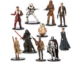 50% off Star Wars: The Force Awakens Deluxe Figure Play Set