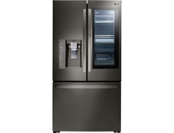 $1,400 off LG InstaView 23.5-cu ft French Door Refrigerator