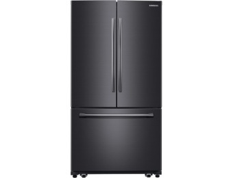 $801 off Samsung 25.5-cu ft French Door Refrigerator RF260BEAESG