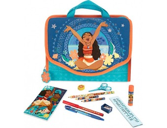 41% off Disney Moana Zip-Up Stationery Kit