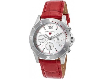 88% off Swiss Legend Watches Paradiso Diamonds Leather Watch