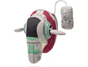 75% off Plush Star Wars Slave 1 Ship with Han Solo