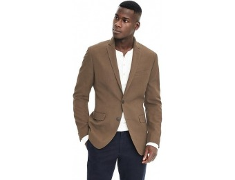 $101 off Banana Republic Mens Slim Heritage Olive Wool Sport Coat