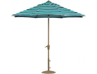 75% off 6' Auto-Tilt Outdoor Sun Market Umbrella + EXTRA 25% Off