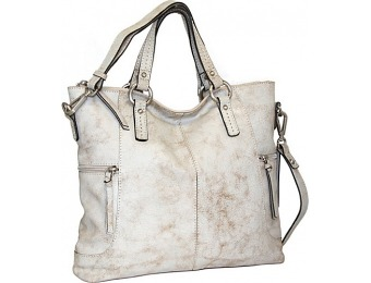 50% off Nino Bossi Crackle Convertible Tote