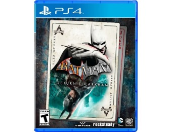 70% off Batman: Return to Arkham - PlayStation 4