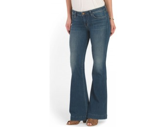 74% off Made In USA Love Story Flare Jean