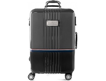 "50% off Tommy Hilfiger Duo-Chrome 28"" Rolling Luggage"