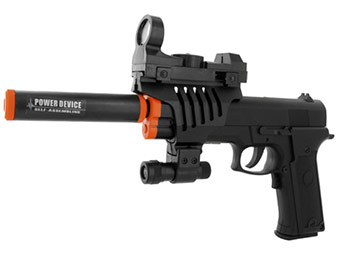 70% off Electric Full Auto Tactical .45 Style Pistol Airsoft Gun