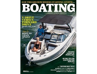 93% off Boating Magazine