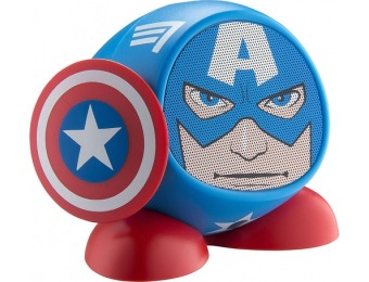 87% off Marvel Captain America Portable Bluetooth Speaker