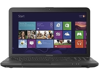 "$160 off Toshiba C55D-A5208 Satellite 15.6"" Laptop"