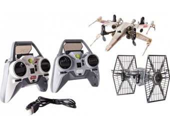 $124 off Air Hogs Star Wars X-wing Starfighter and TIE Fighter Drones