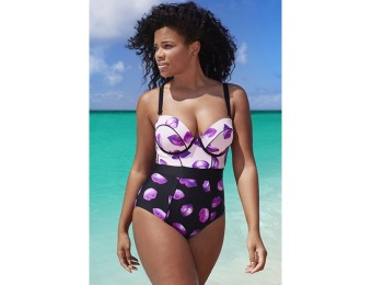 80% off GabiFresh for Swim Sexy The Lady D/DD Underwire Swimsuit