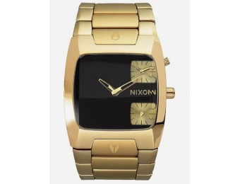 75% off NIXON BF16 BANKS BLK/GOLD Watch