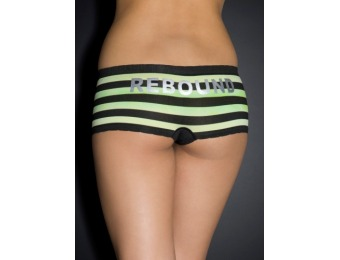 92% off 'Rebound' Ombre Striped Cheeky Panty