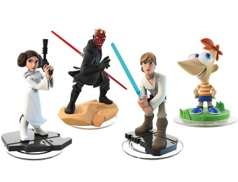 Up to 90% Off Disney Infinity Figures, Starter Packs and More