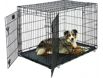 72% off MidWest Life Stages Folding Metal Dog Crate