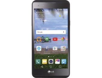 57% off Simple Mobile LG X Style 4G LTE 8GB Prepaid Cell Phone