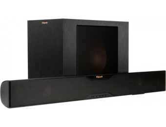 "$500 off Klipsch Reference Soundbar w/ 10"" Wireless Subwoofer"